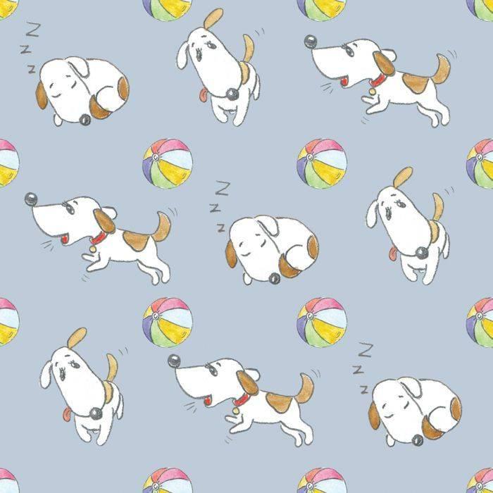 "принт Funny dogs (весёлые собачки).  Для конкурса ""LIKE. PATTERN – ЛЕТНИЙ КОНКУРС ПАТТЕРНОВ"""