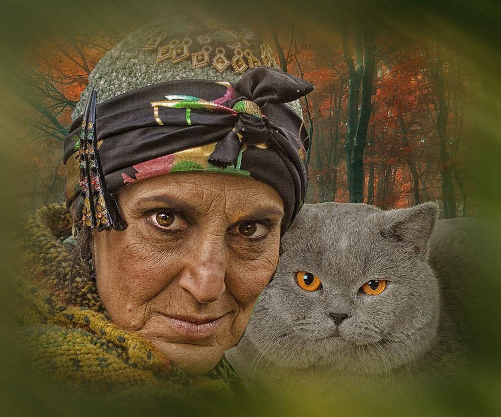 Портретные обработки разных фото