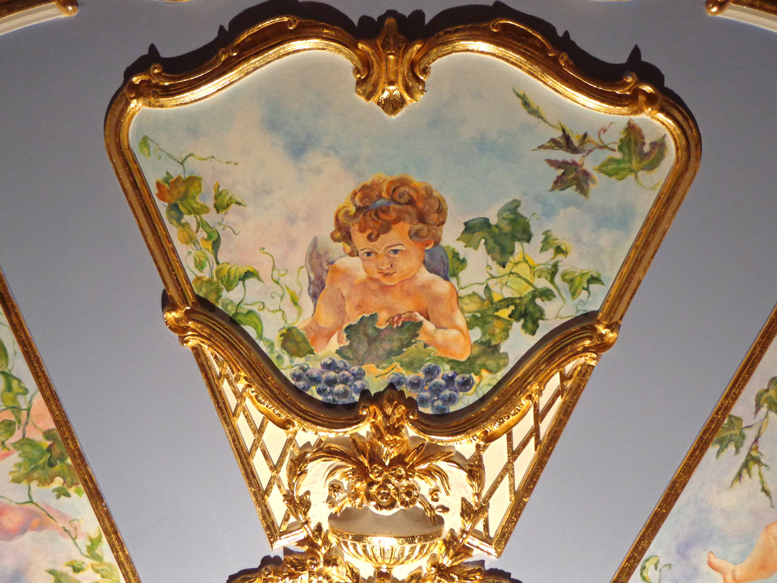 Painting interior in the style palace