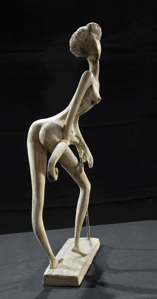 WAIT 2001 year bronza 55x30x10cm 5500$
