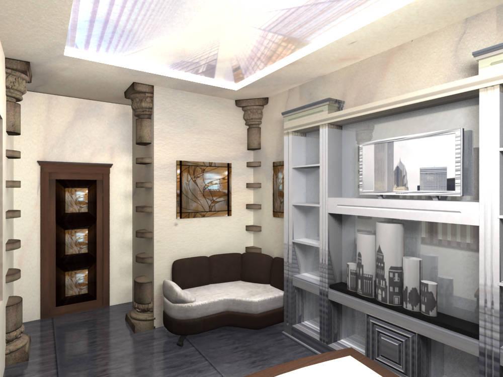 Office interior design architectural bureau
