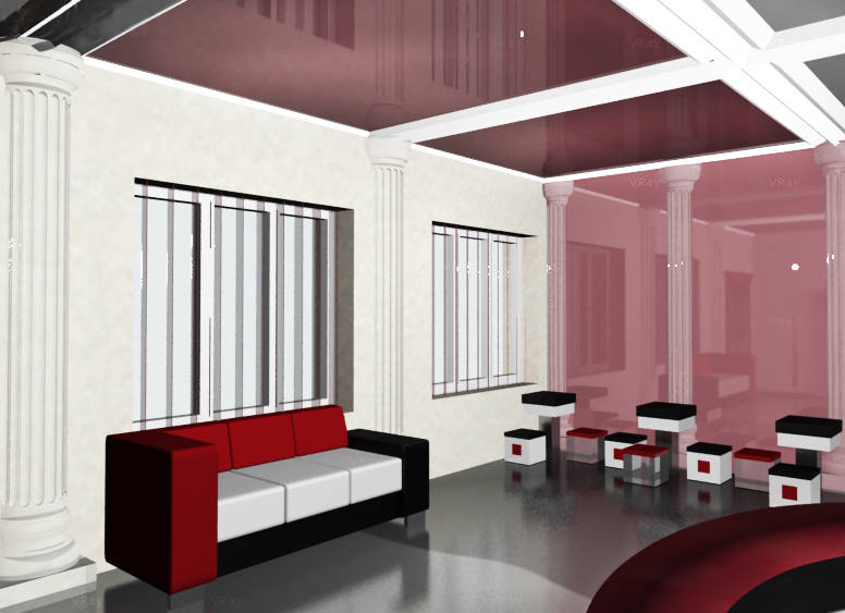 Office interior design architectural bureau