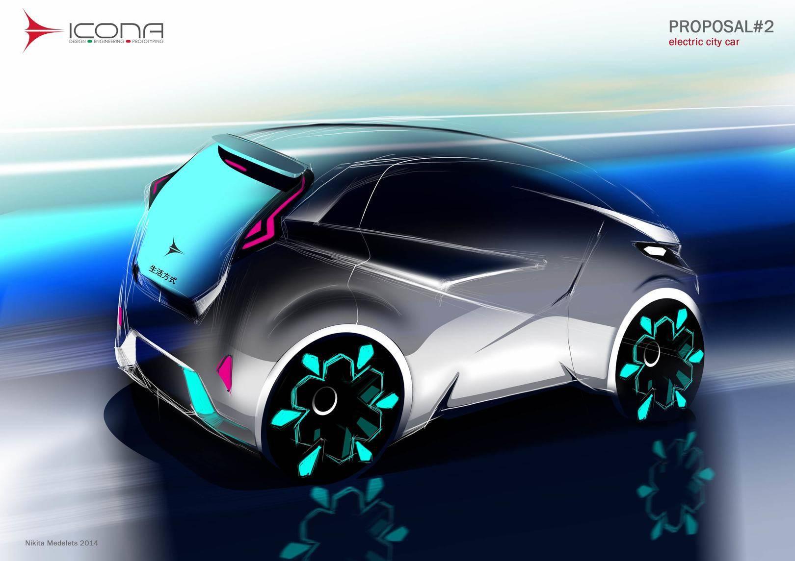 ICONA city car