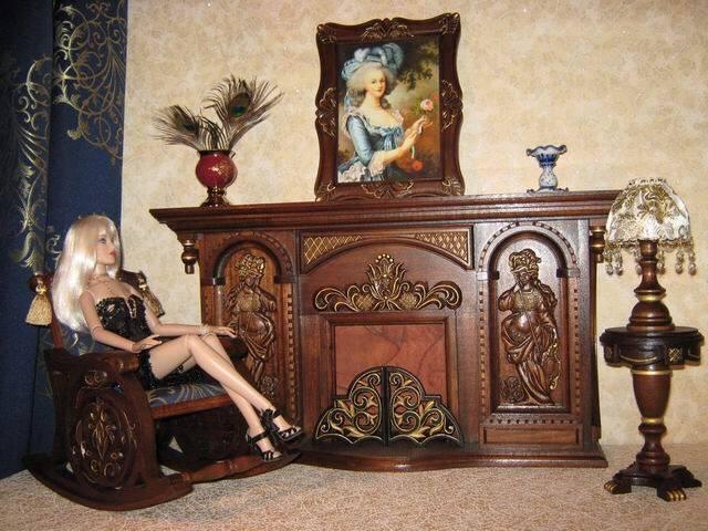 Кукольная гостиная.