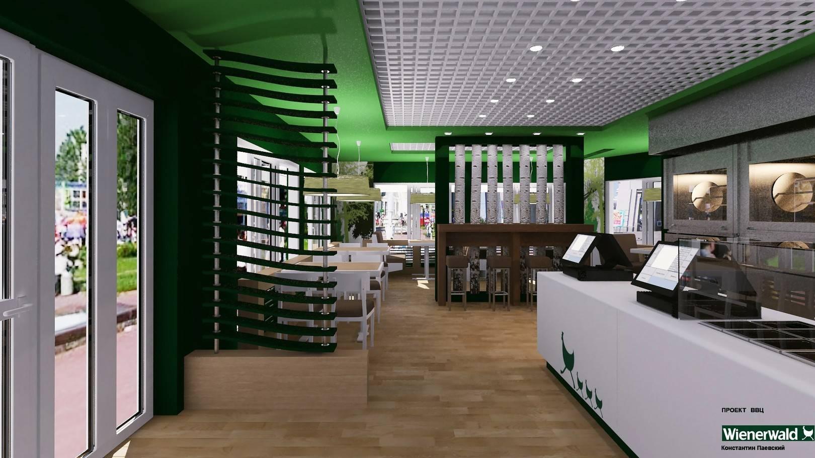 "проект кафе ""WIENERWALD"" ВДНХ март 2014"