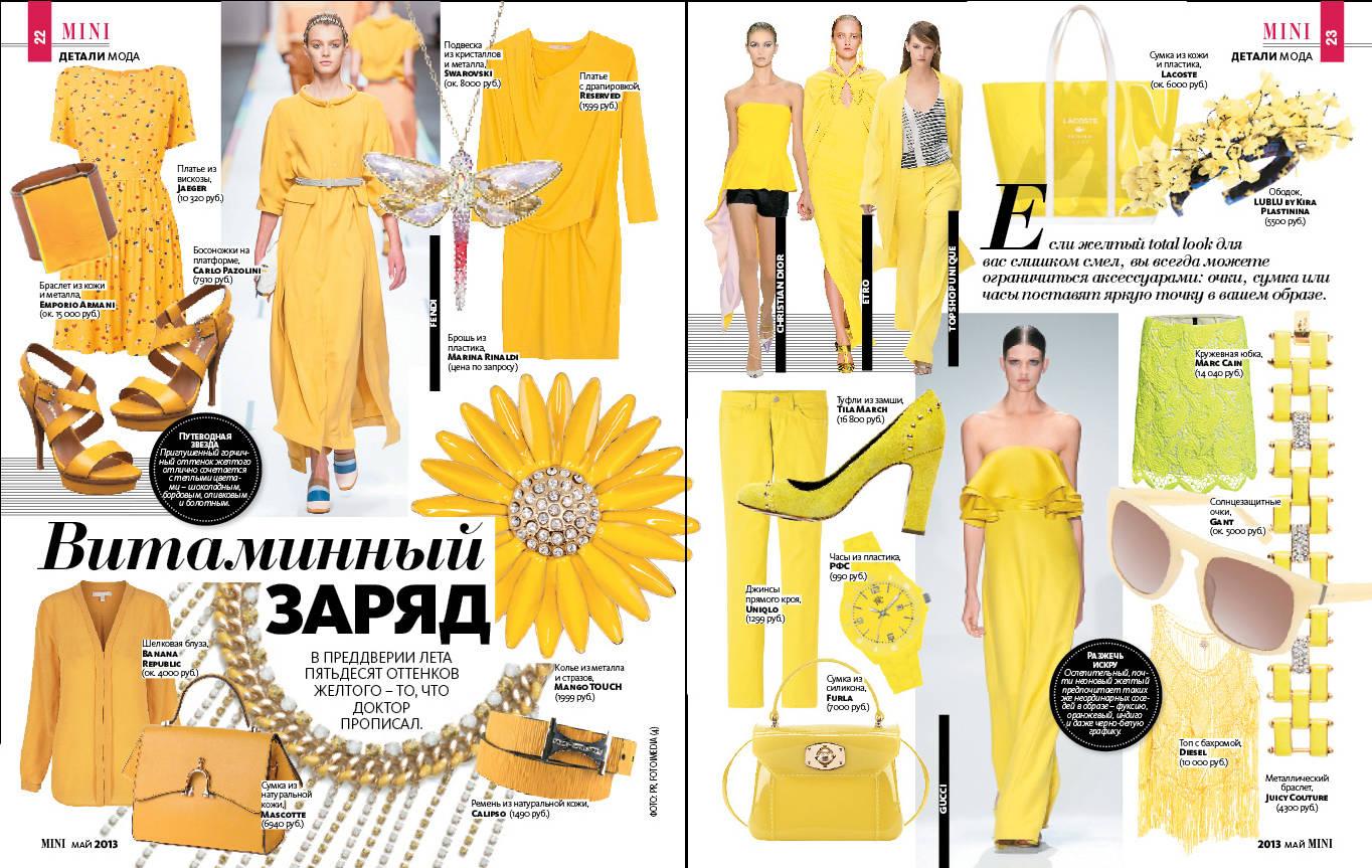 Дизайн журнала MINI