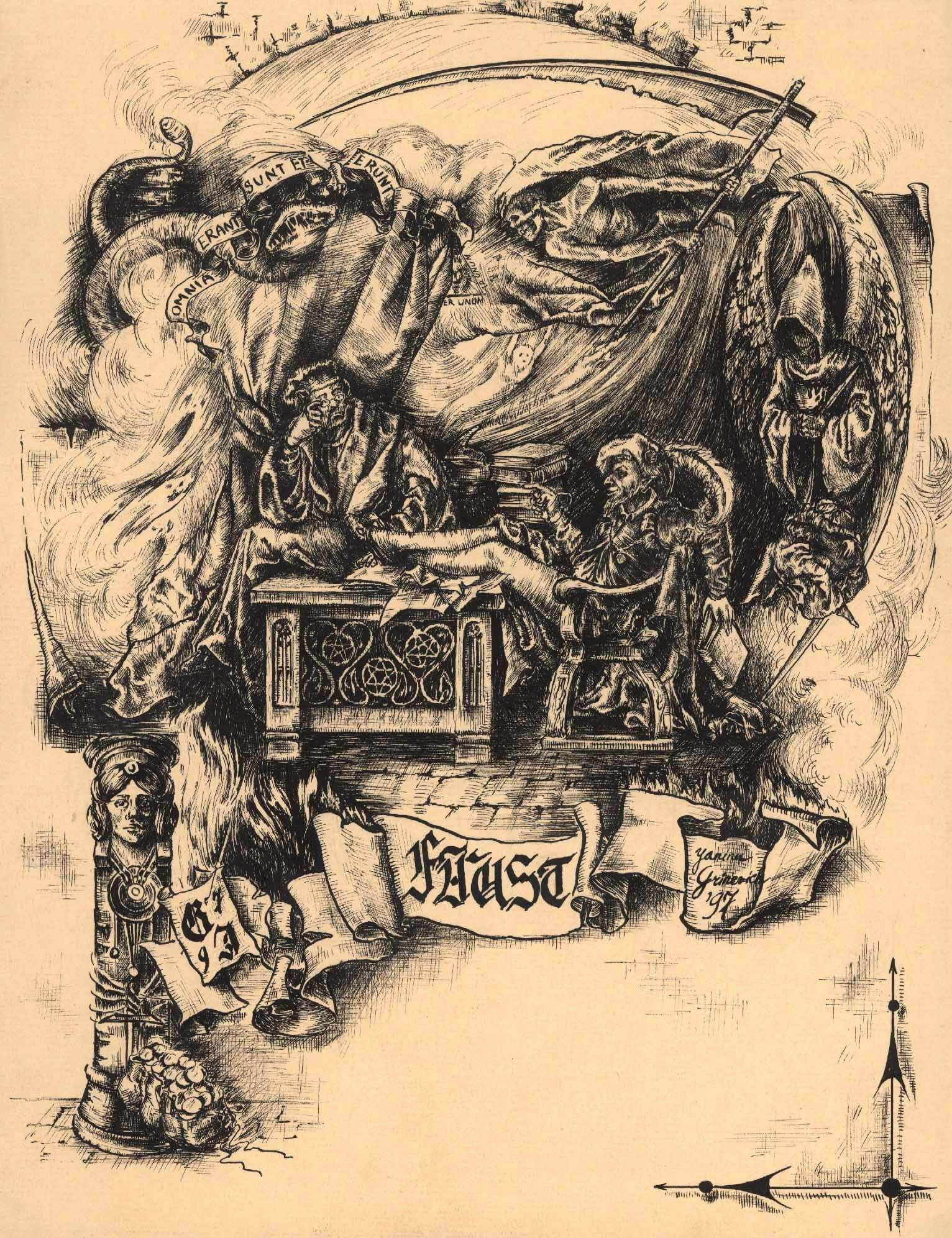 "J.W.Goethe ""Faust"""
