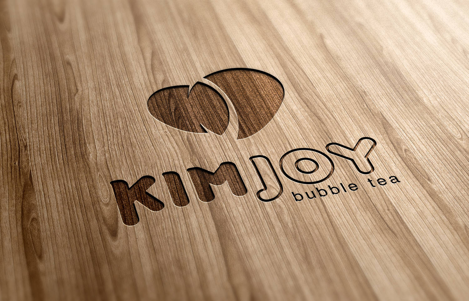 Kim Joy bubble tea - logotype