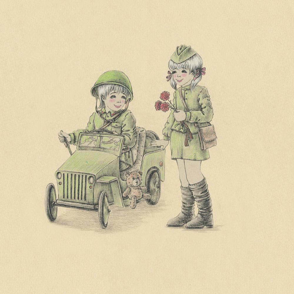 Military vehicle (военный автомобиль)