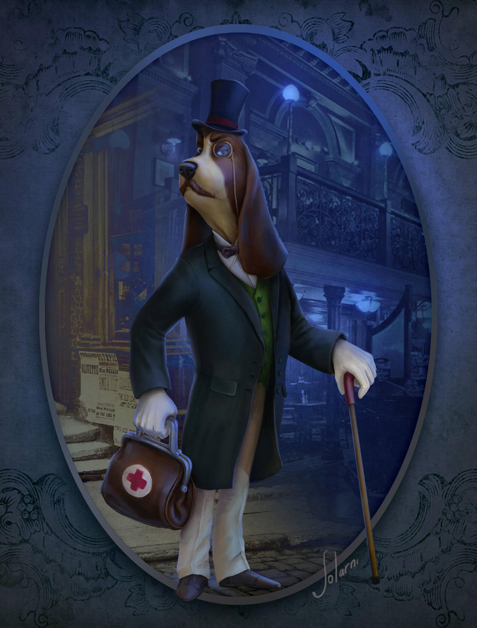 Серия персонажей, personal art, Doctor Dog