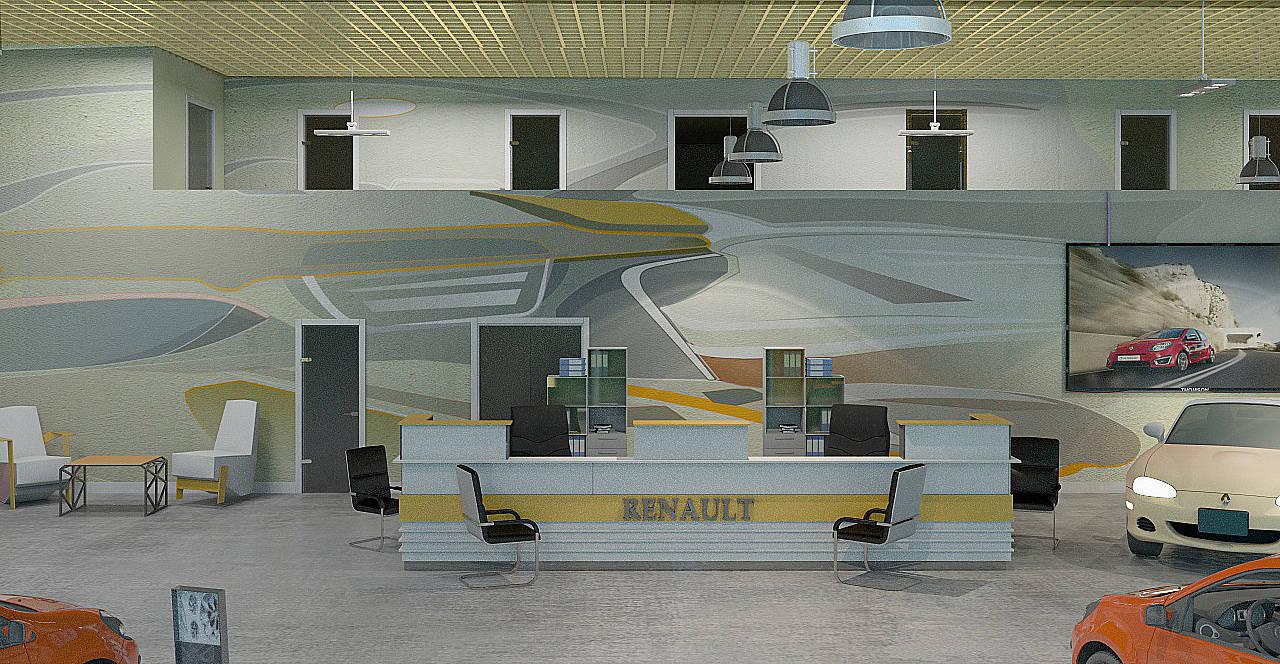 Автосалон Renault