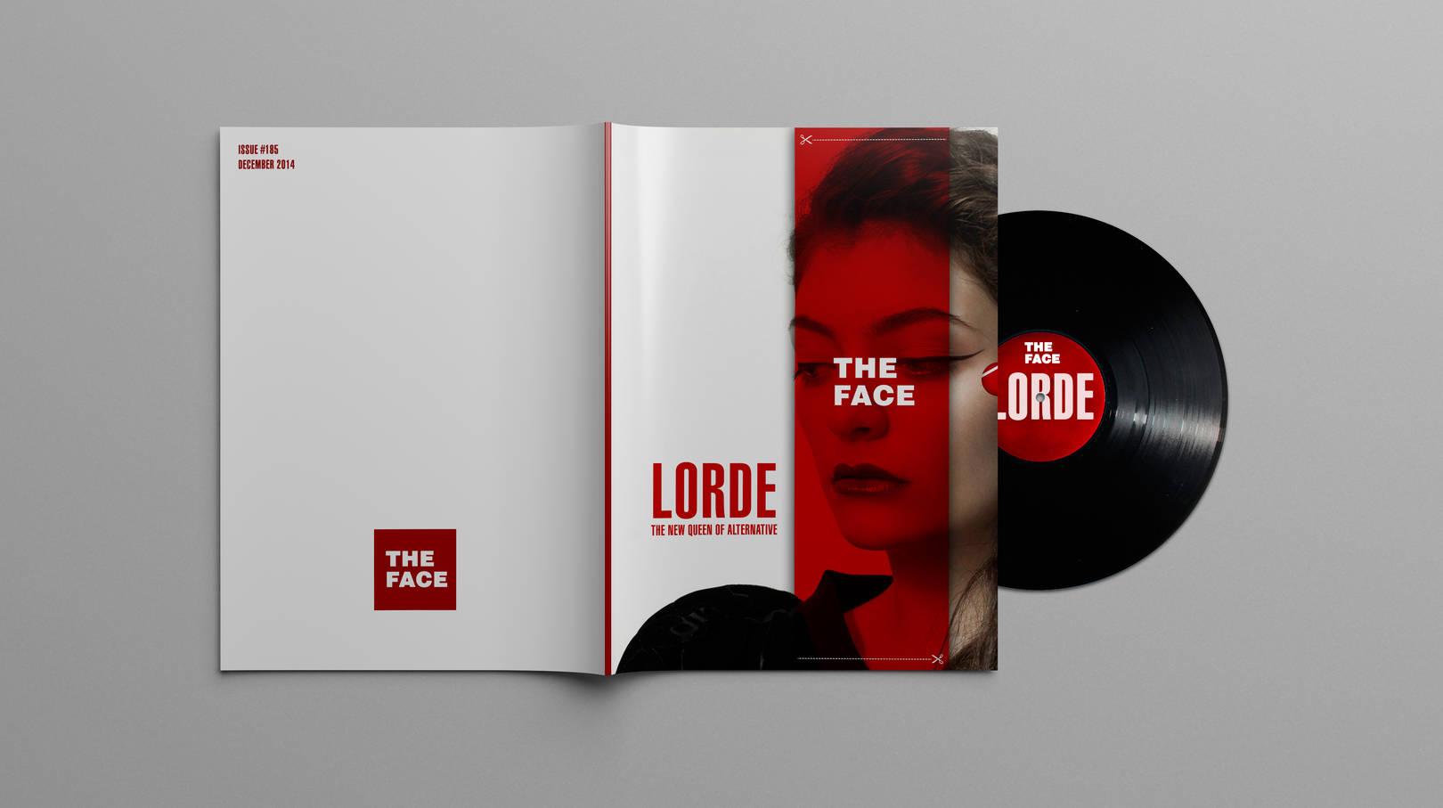 редизайн журнала The Face