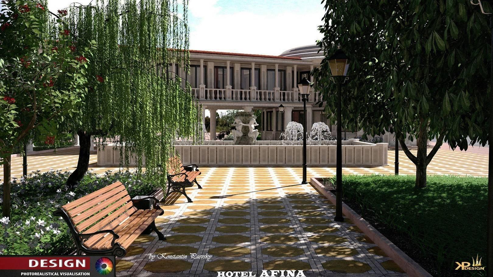 """проект гостиница """"АФИНА"""""""
