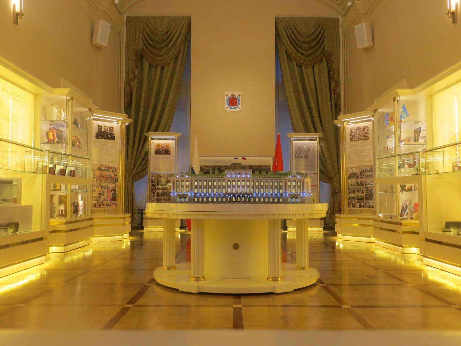 Музей истории парламентаризма  Санкт-Петербург. Мариинский дворец.