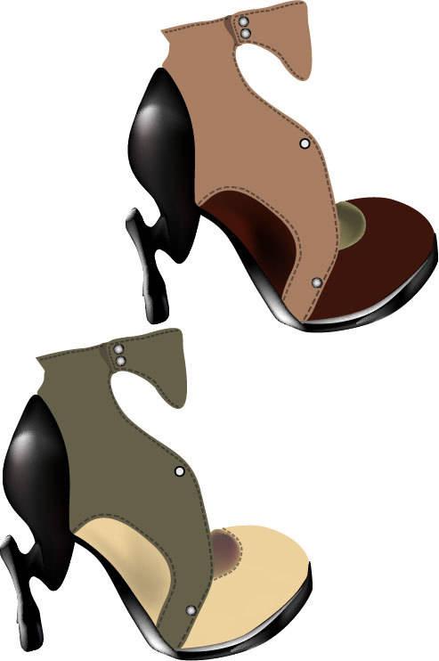 """коллекция обуви """"clatter of hoofs"""""""