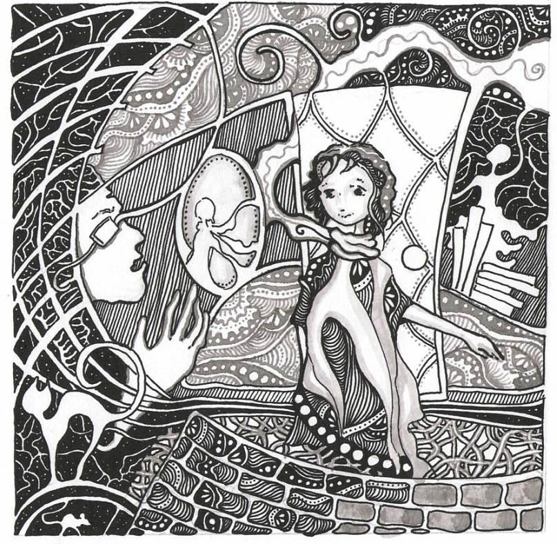 Девочка, сворачивающая миры