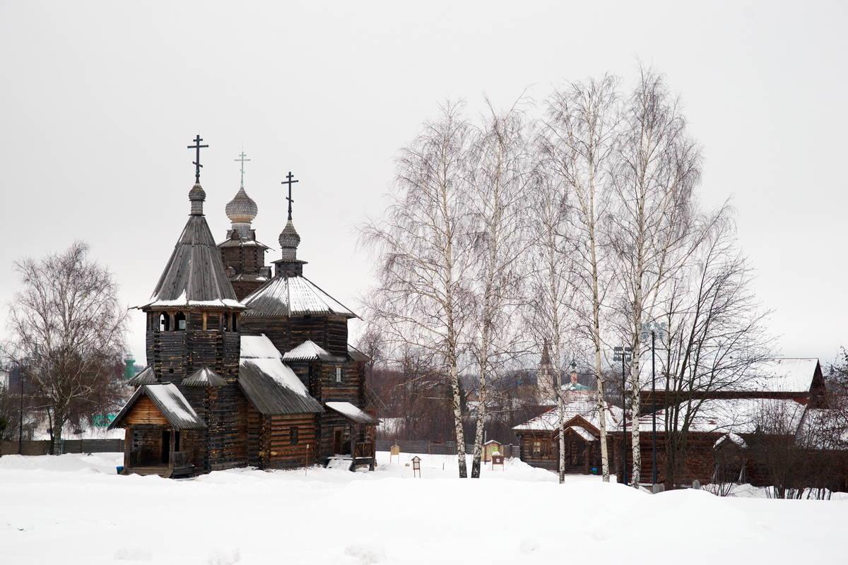 Воскресенская церковь из села Патакино (1776г.)