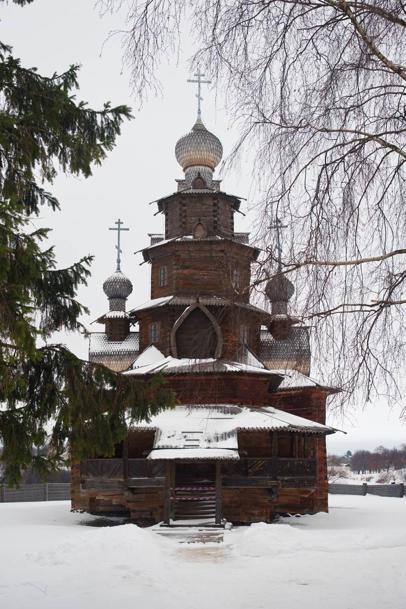 Преображенская церковь из села Козлятьеава (1756 г.)