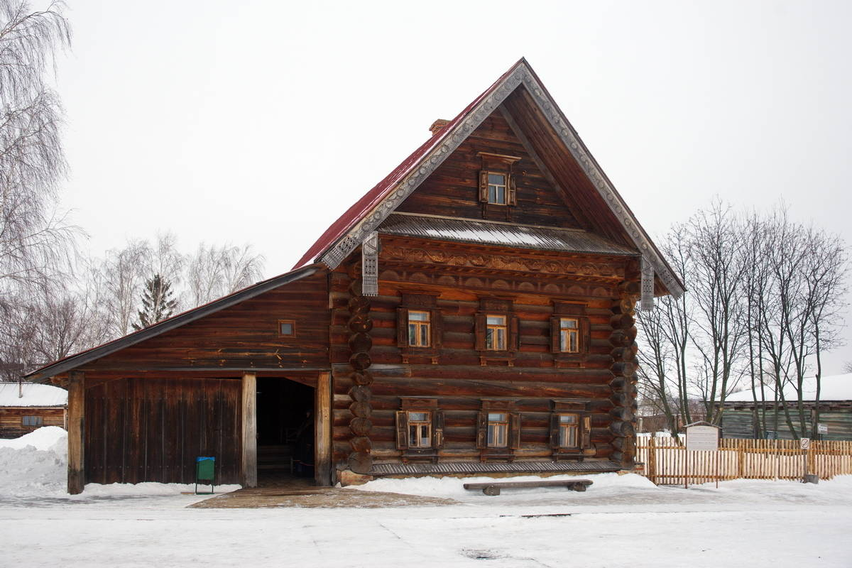 Дом зажиточного крестьянина.