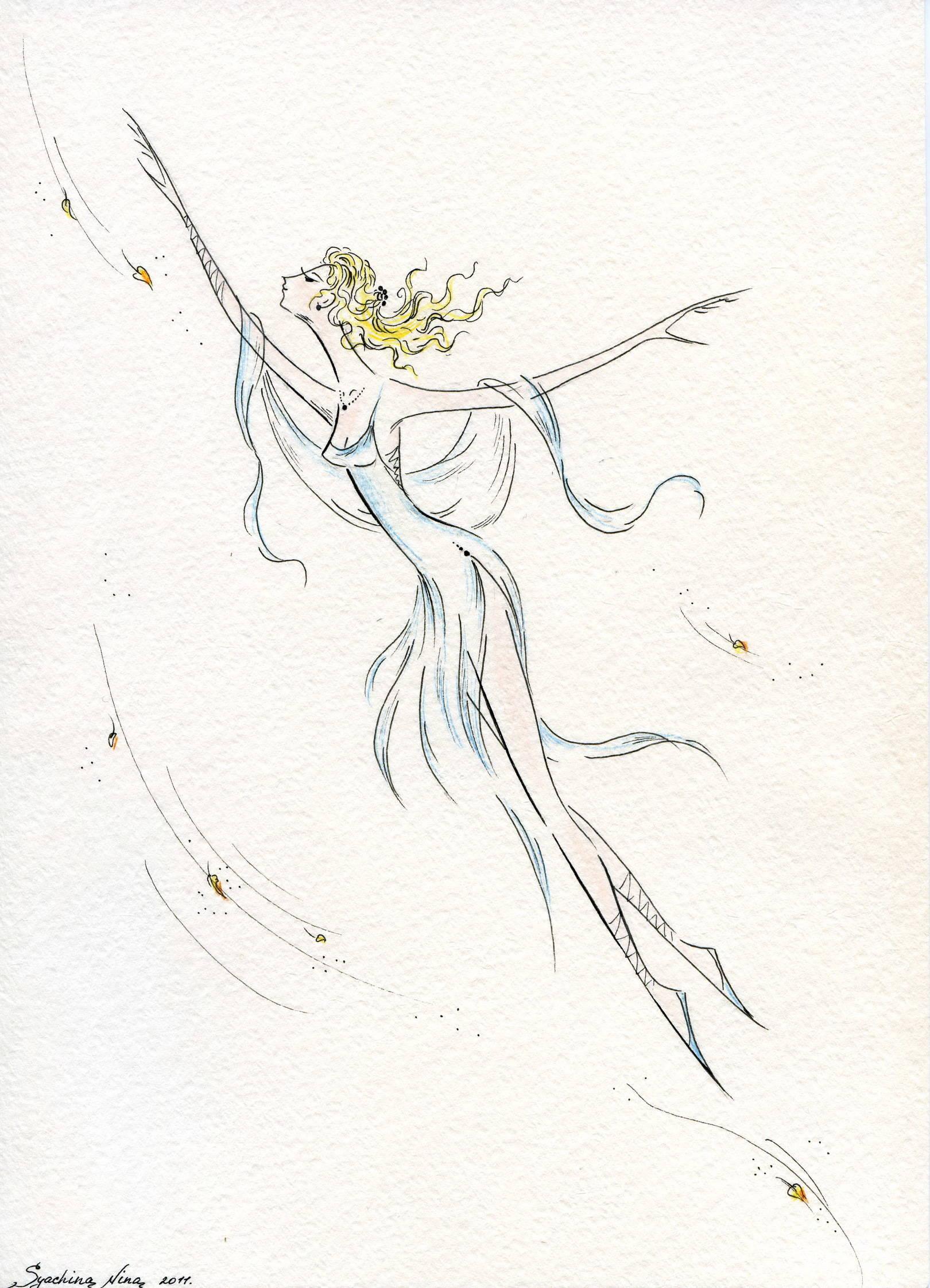 иллюстрация к стихотворению автора