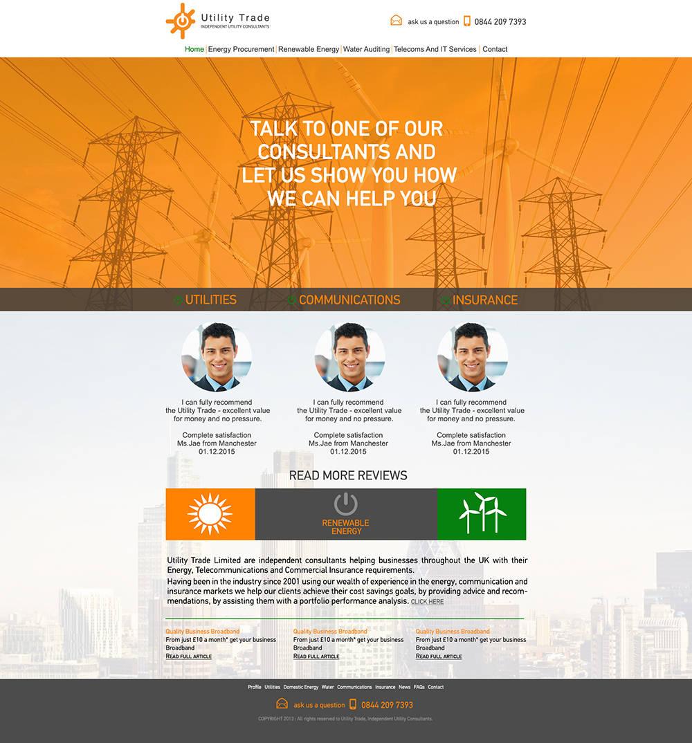 Сайт поставщика электроэнергии
