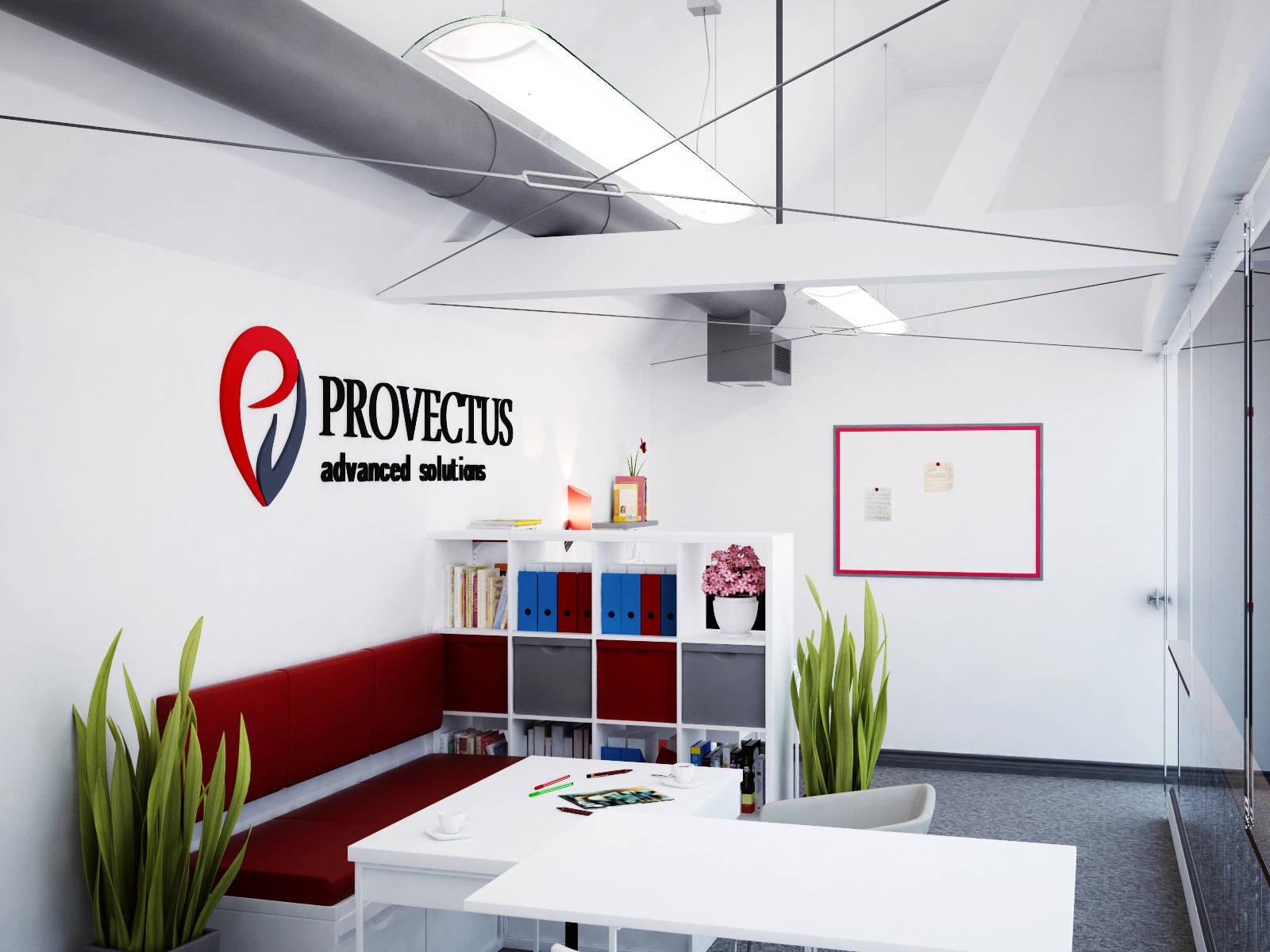 Дизайн офиса г.Одесса Open Space PROVECTUS IT