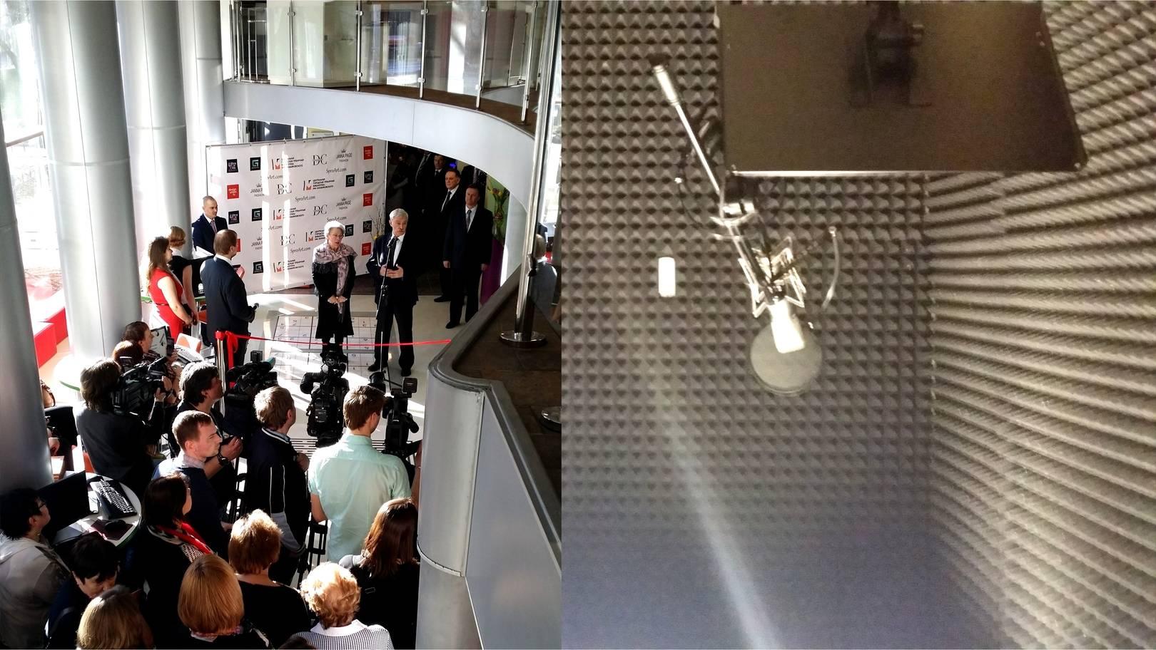 Открытие центра М 86 губернатором СПб