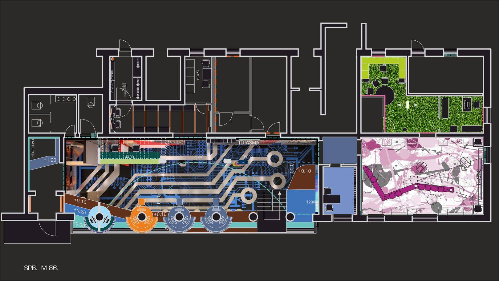 Дизайн-концепция плана М 86