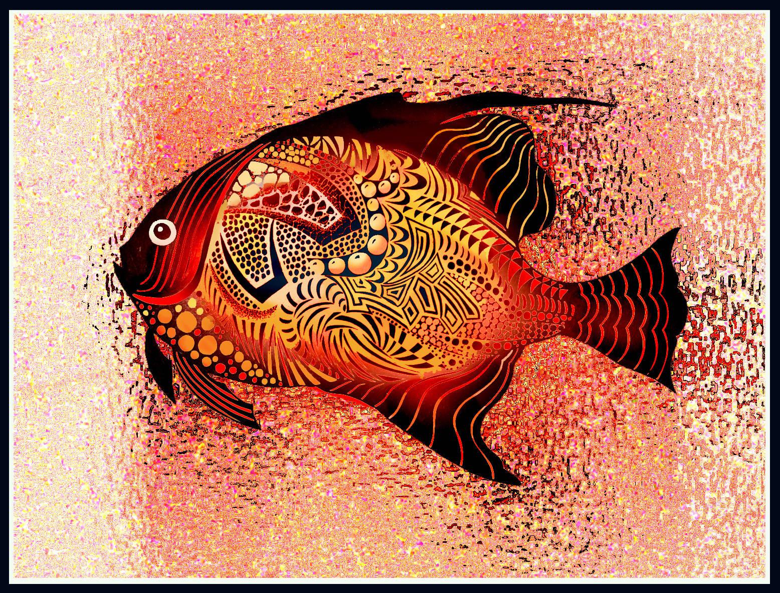 Из жизни рыбок.