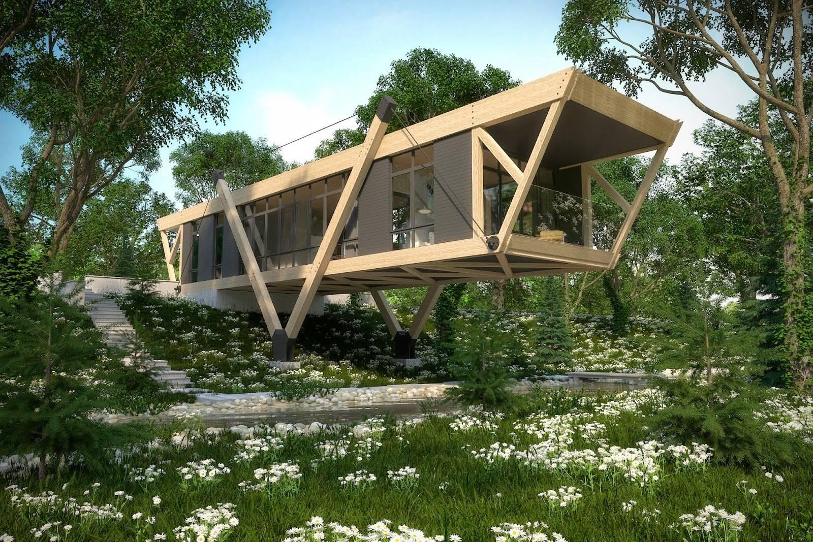 Дом у ручья