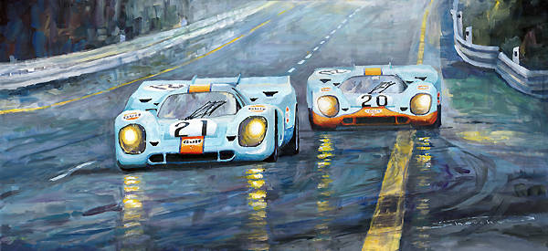 Automotive paintings