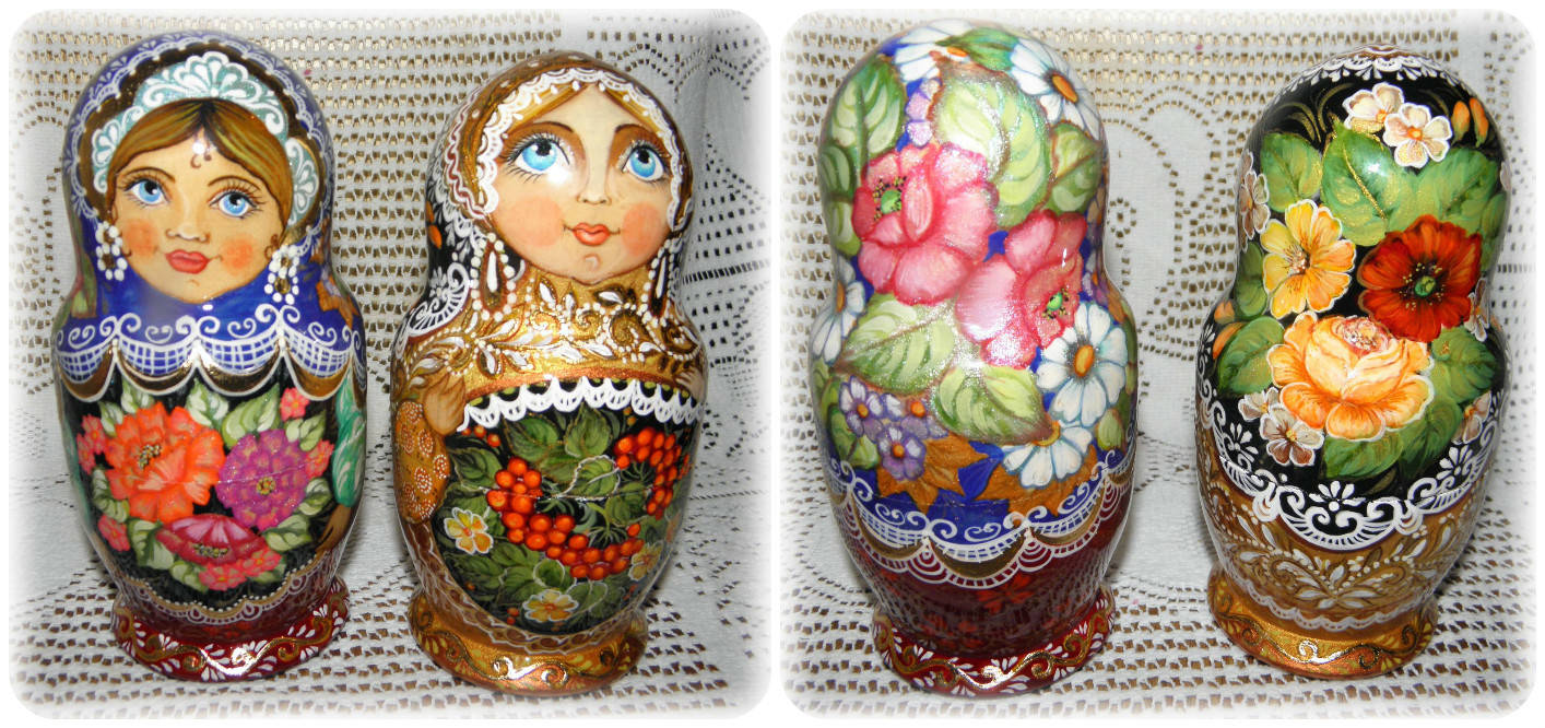 Мои русские матрешки-My Russian doll