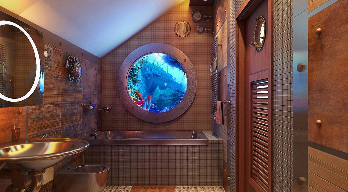 Ванная батискаф