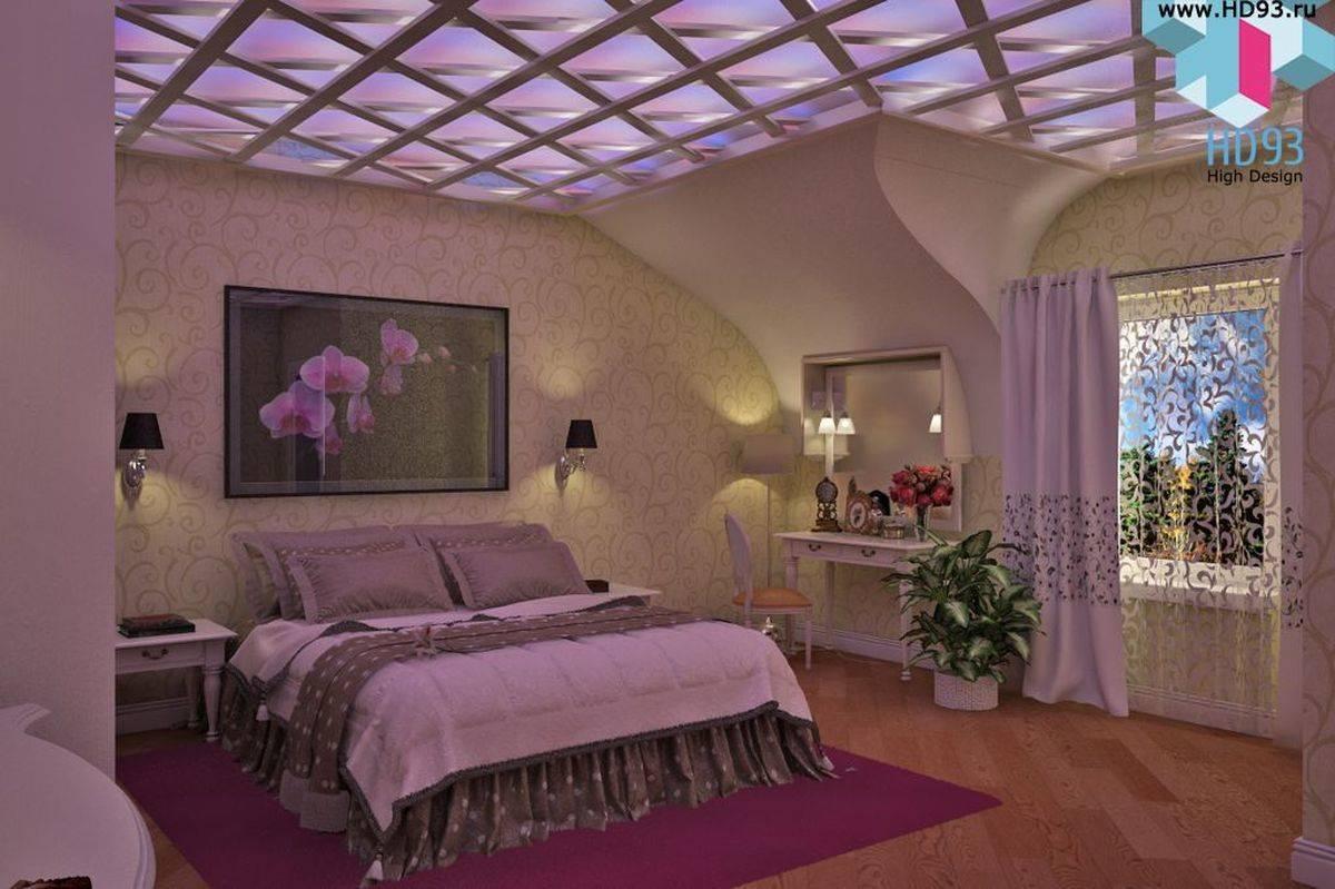 Спальня на вкус и цвет )