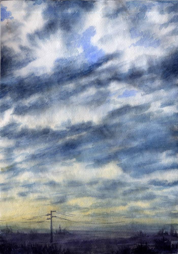 Пейзажи, станковая живопись