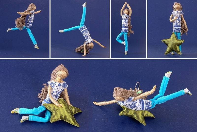 Flexible doll