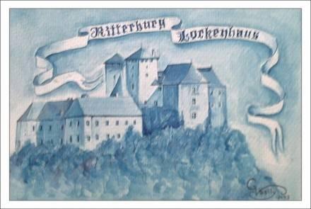 Австрия. Риттерсбург (акварель)