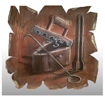 Панно 50х50,(картон,сепия,пастель,уголь)