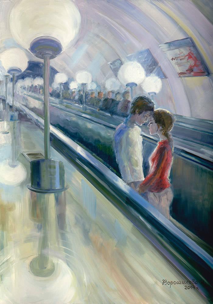 Живопись Наталии Ворошиловой