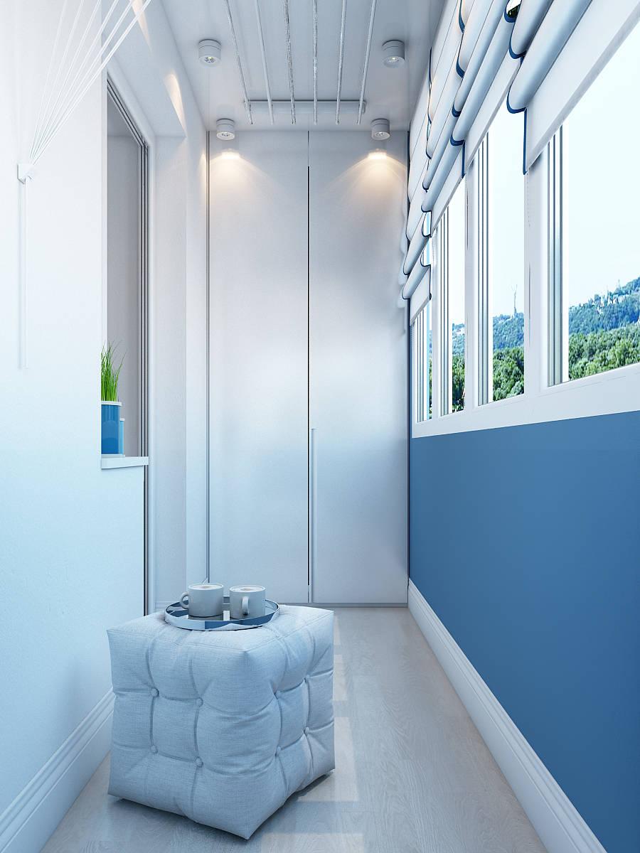 Дизайн интерьера балконов, стиль -... / интерьер / интерьер .