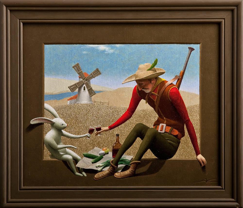 Охотник и заяц