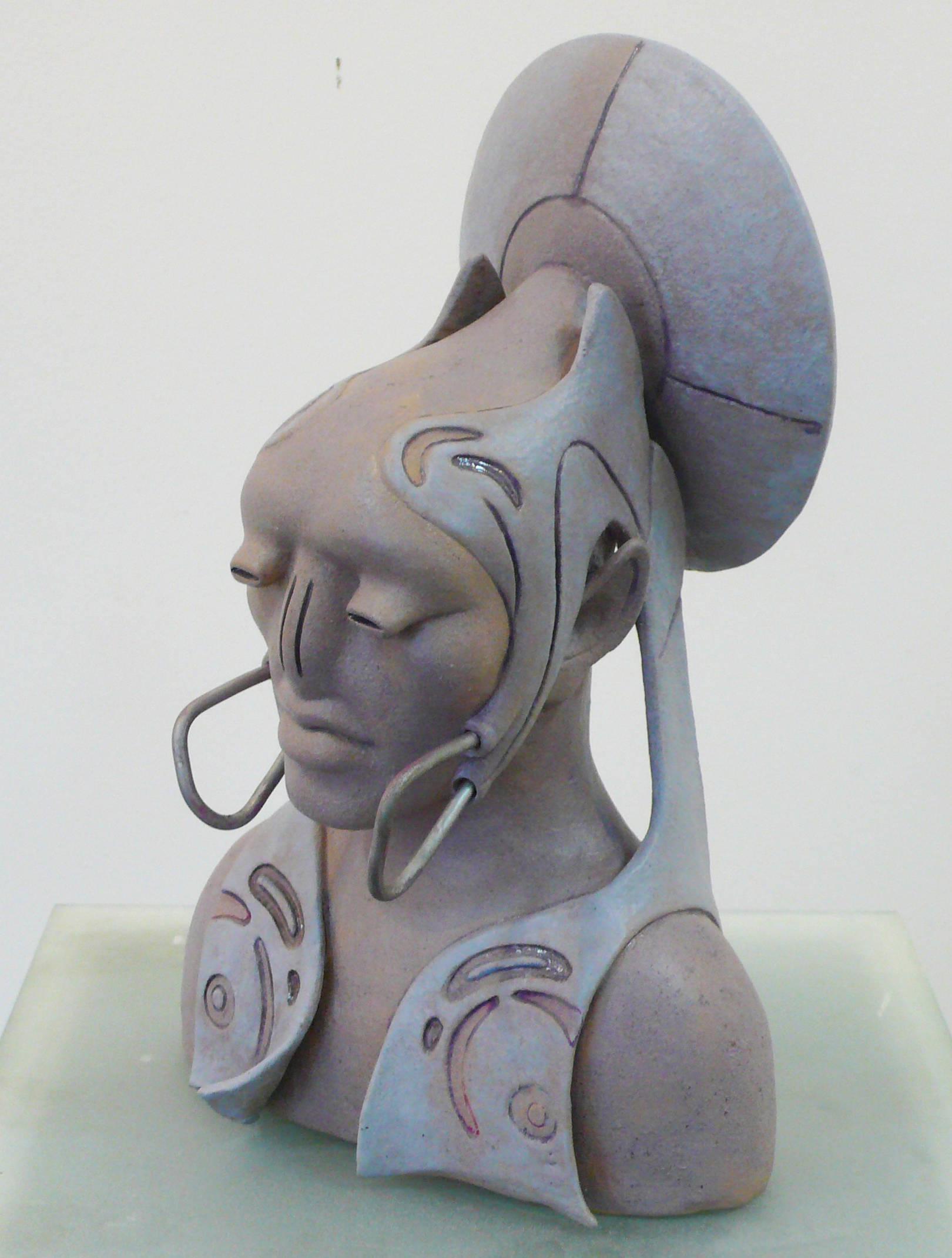 Портрет чувственного инопланетянина.Автор эскиза- Александр Краснов