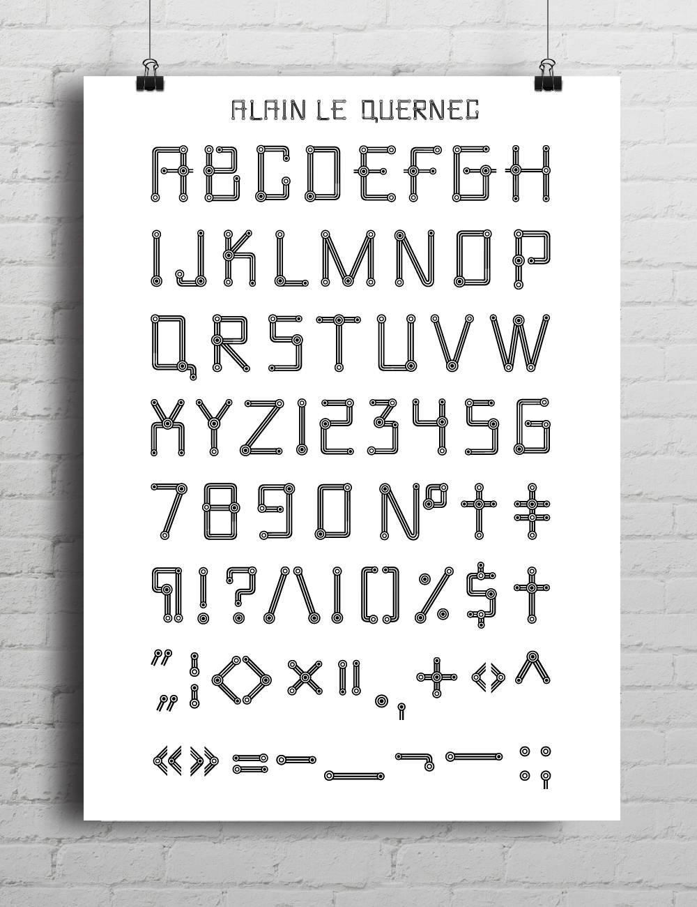 Type by Alain le Quernec