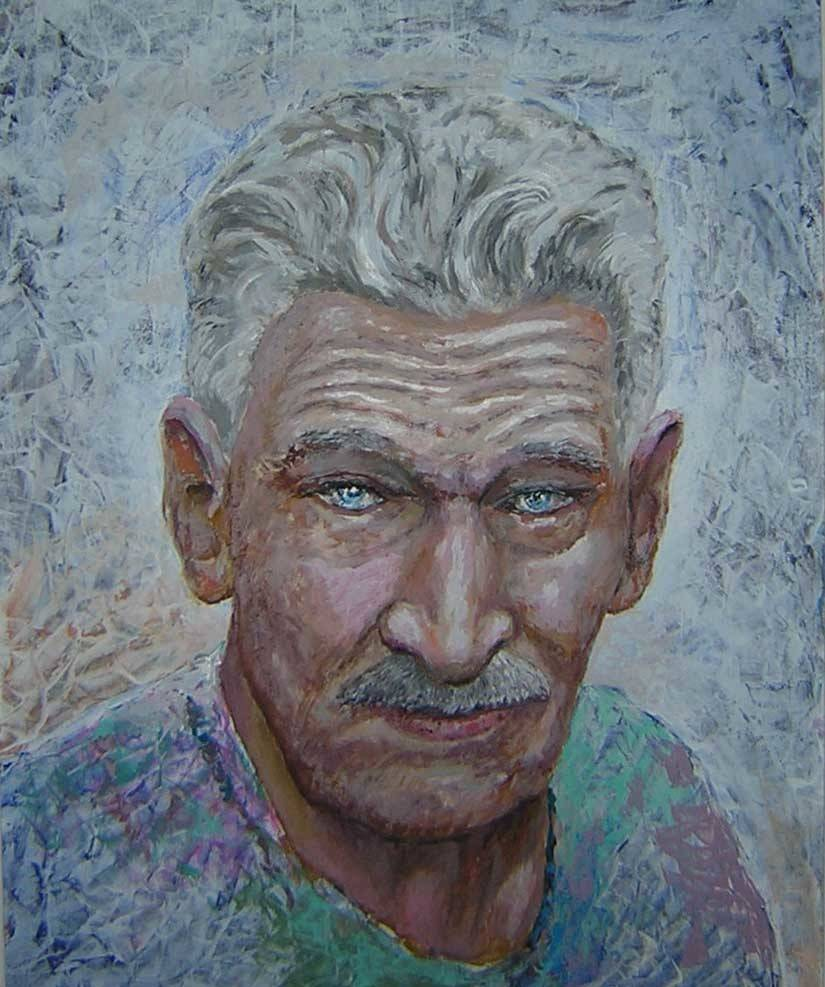 Николай Павлович, 70х60, оргалит, акрил