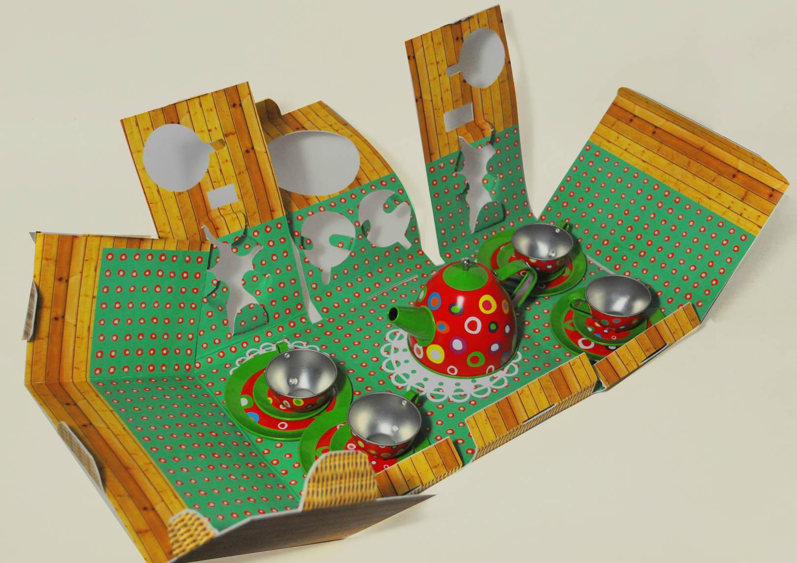 """Packaging for children's toys set """"Rowan"""""""