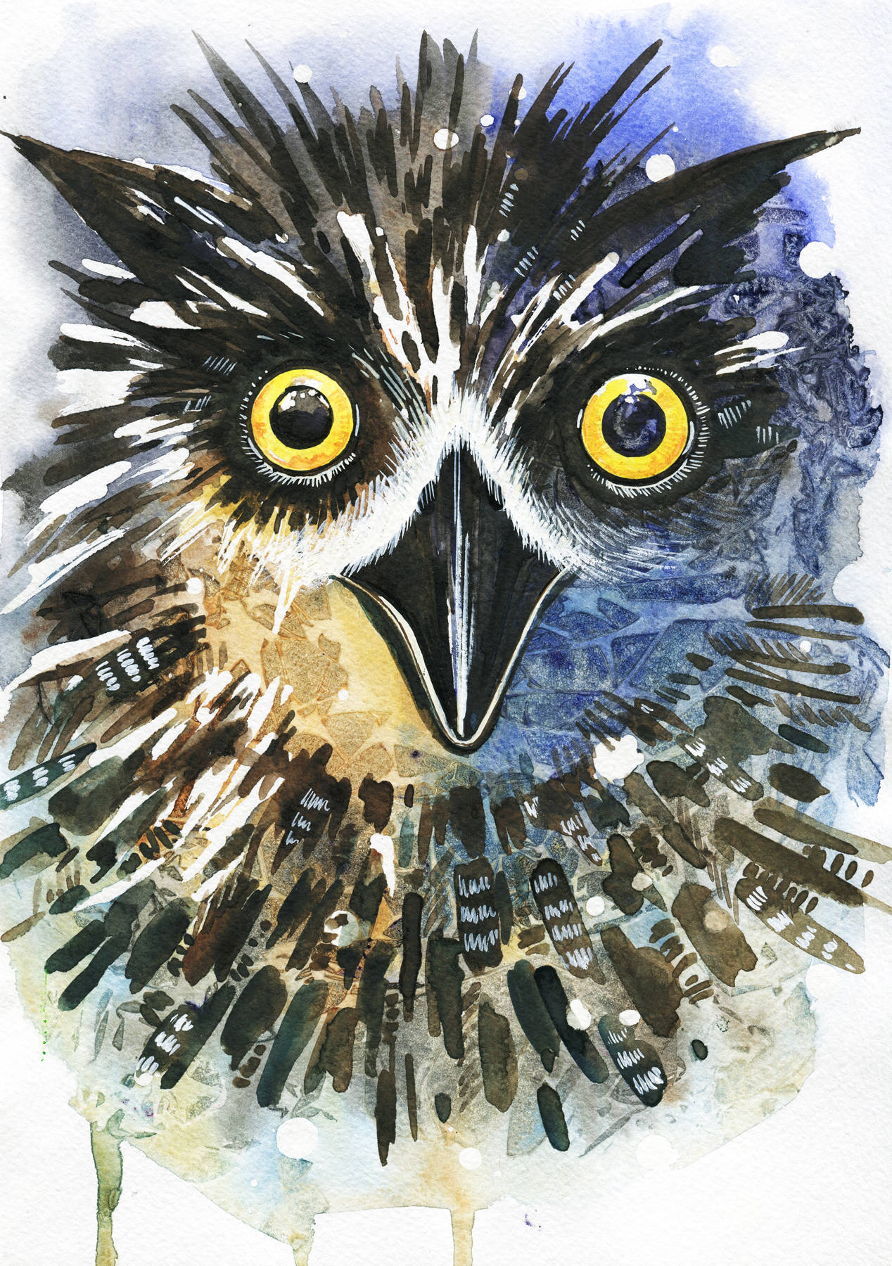 Filin. Watercolor A4
