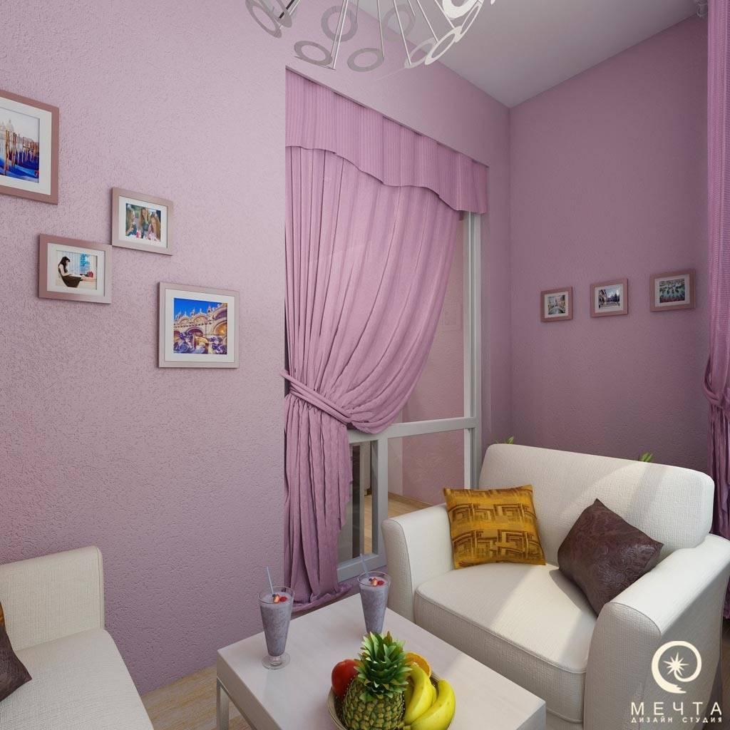 Балкон в спальне дочери