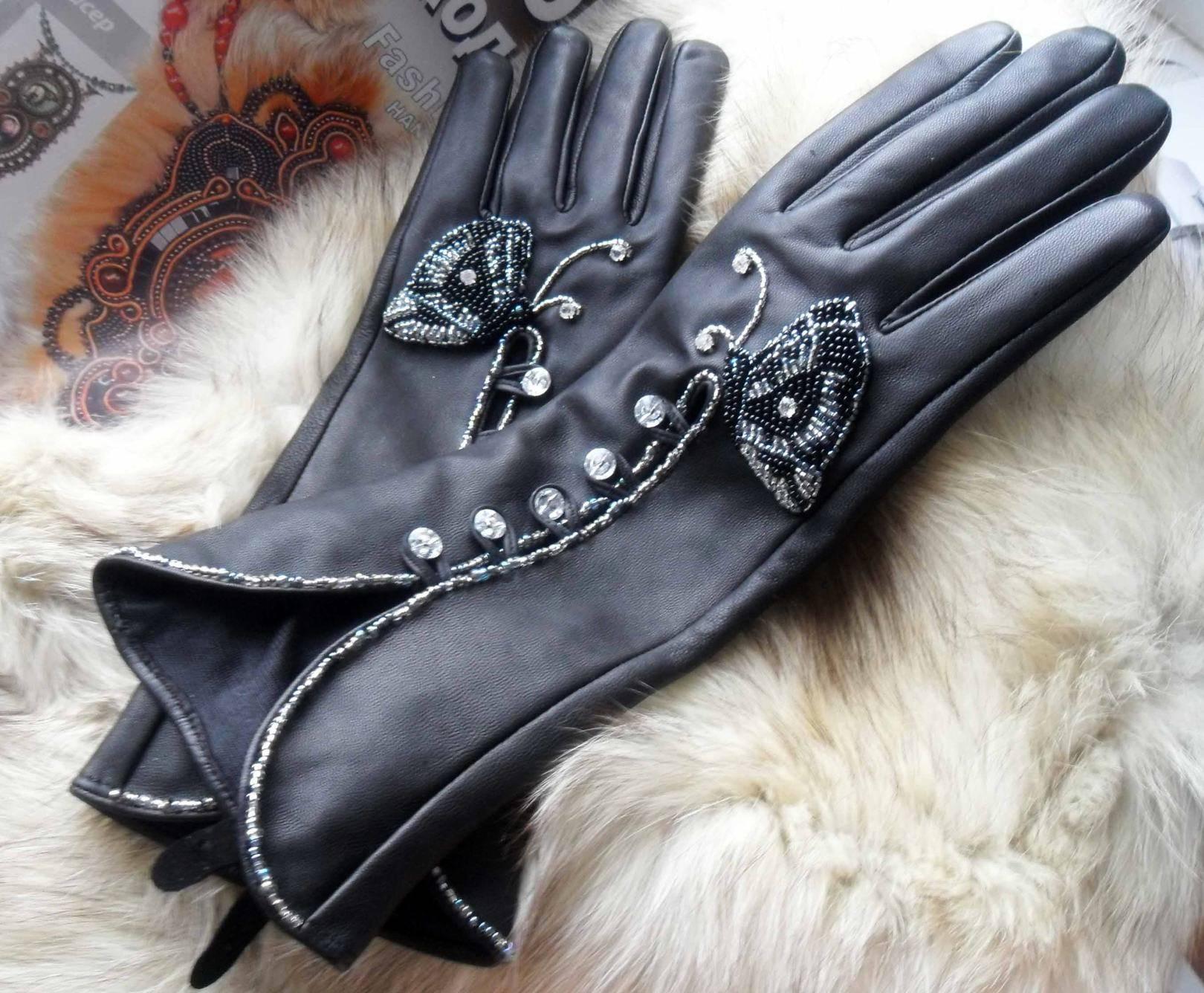 Дизайнерские перчатки, митенки, гловелетты