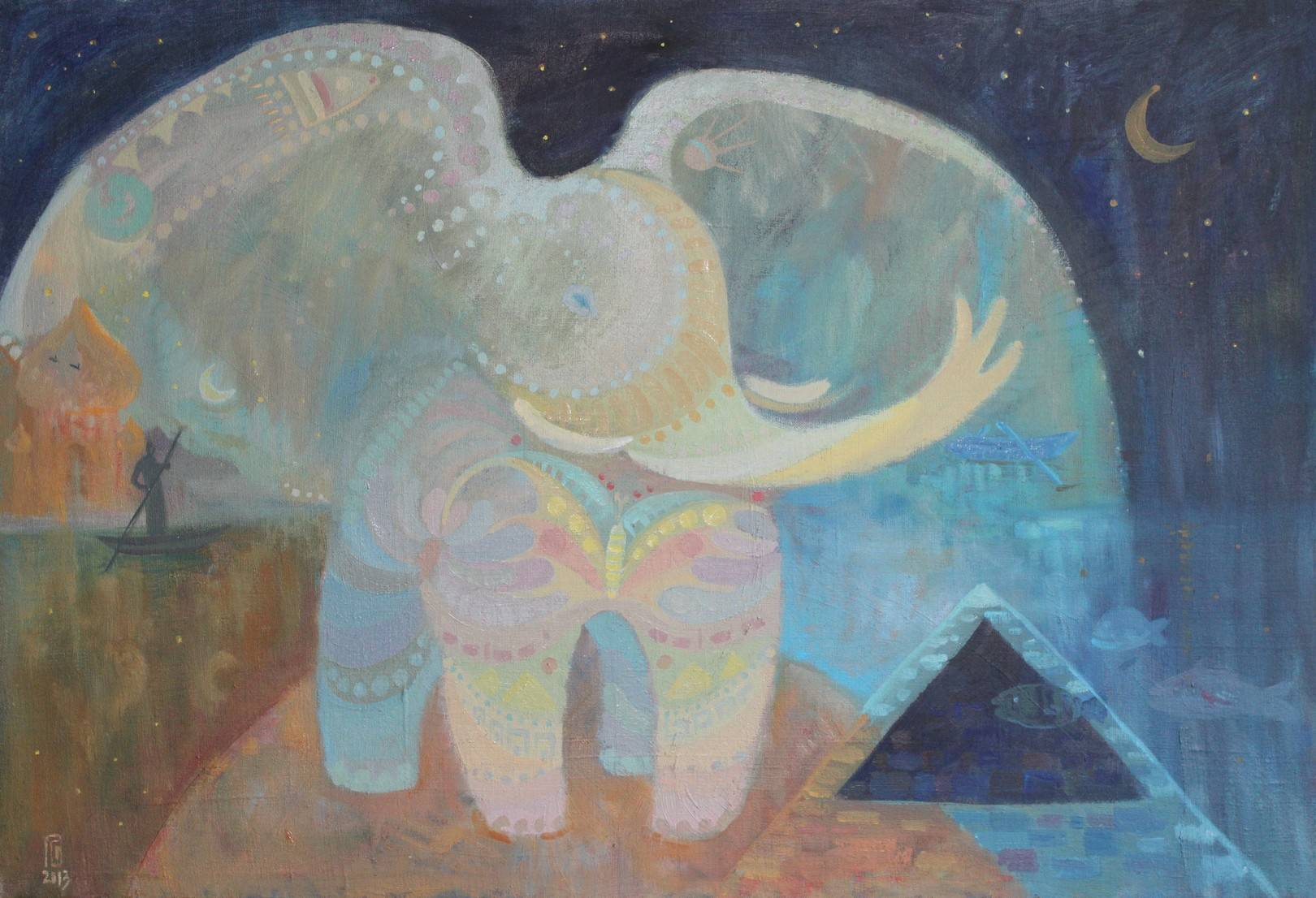 """""""Слон"""" 2013, х.,м."""