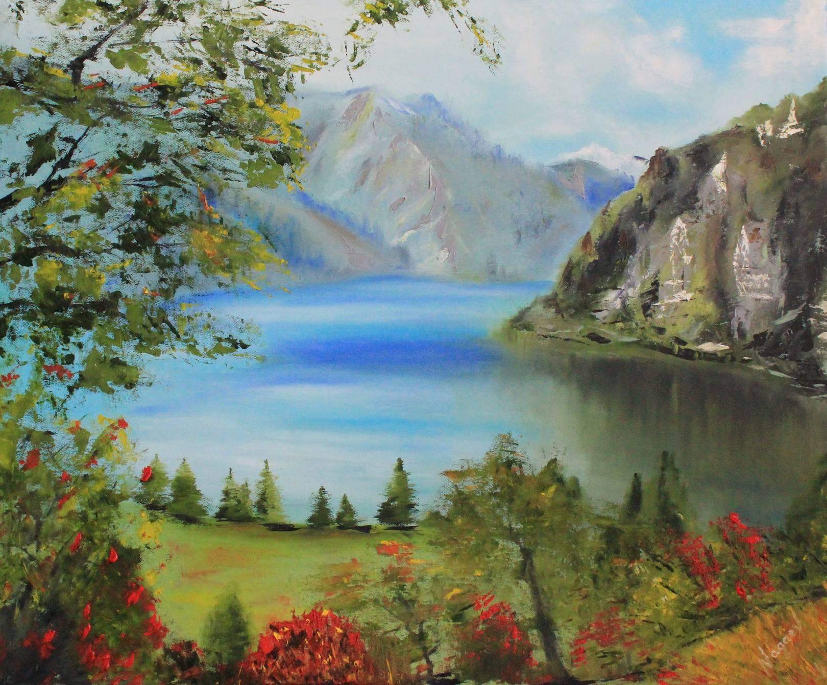 Пресноводное озеро Сары-Челек